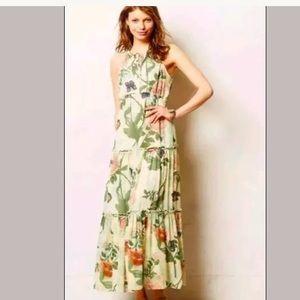 *Maeve* Anthropologie $178 Maraville Maxi dress